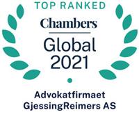 top ranked Chambers Global 2021